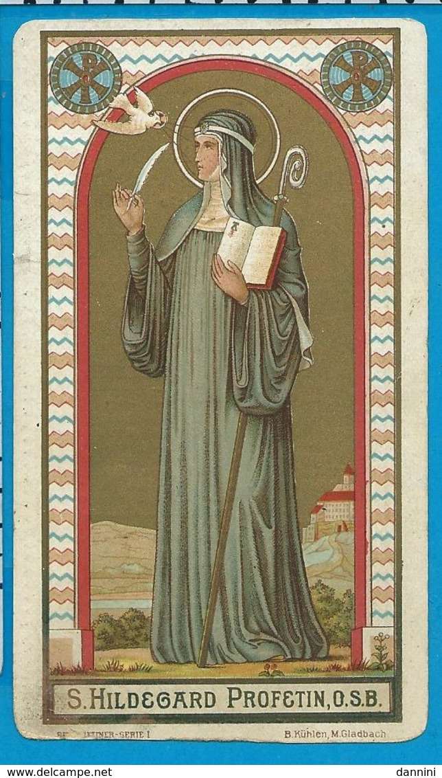 Holycard    St. Hildegard - Images Religieuses