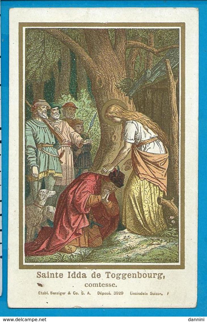 Holycard    St.  Idda   V. Toggenbourg - Images Religieuses