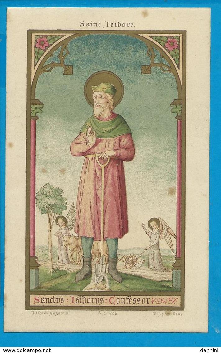Holycard    St.  Isodorus - Images Religieuses