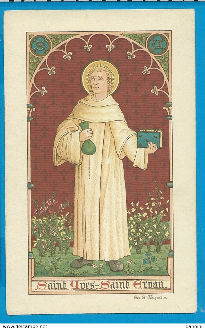 Holycard    St.  Ivo - Images Religieuses