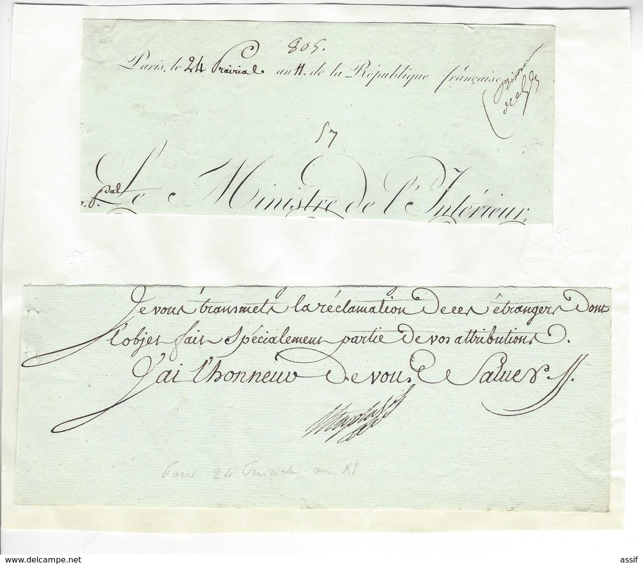 Jean-Antoine Chaptal (1756-1832) AUTOGRAPHE ORIGINAL AUTOGRAPH 1803 /FREE SHIP. R - Autogramme & Autographen