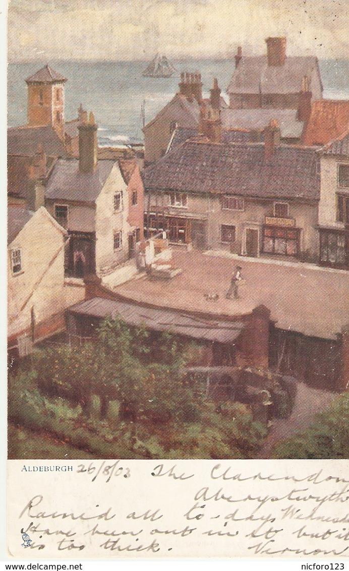 """Frank Emanuel . Aldeburgh"" Tuck Oilette Quaint Corners Series PC # 1173 - Tuck, Raphael"