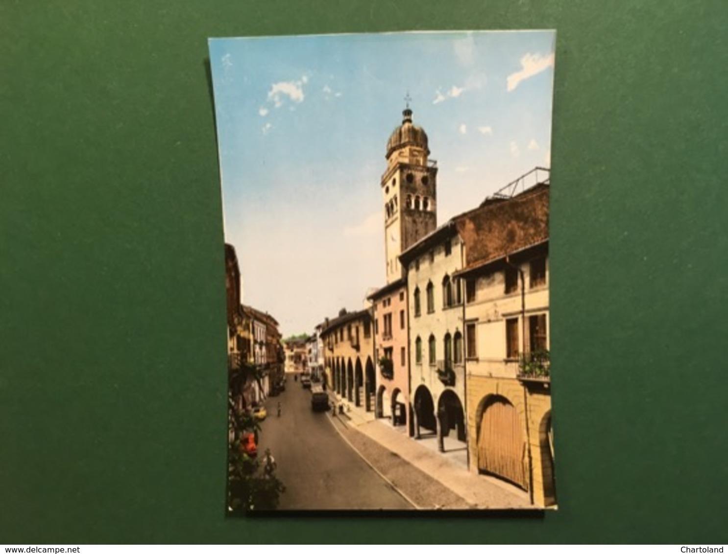 Cartolina Conegliano Veneto - Via XX Settembre - 1965 Ca. - Treviso