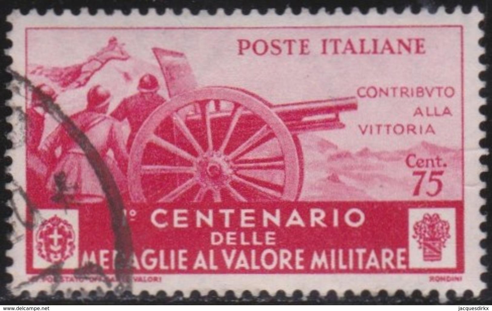 Italy      .   Yvert     .   Stamp       .  O     .   Cancelled  .   /    .  Oblitéré - 1900-44 Vittorio Emanuele III