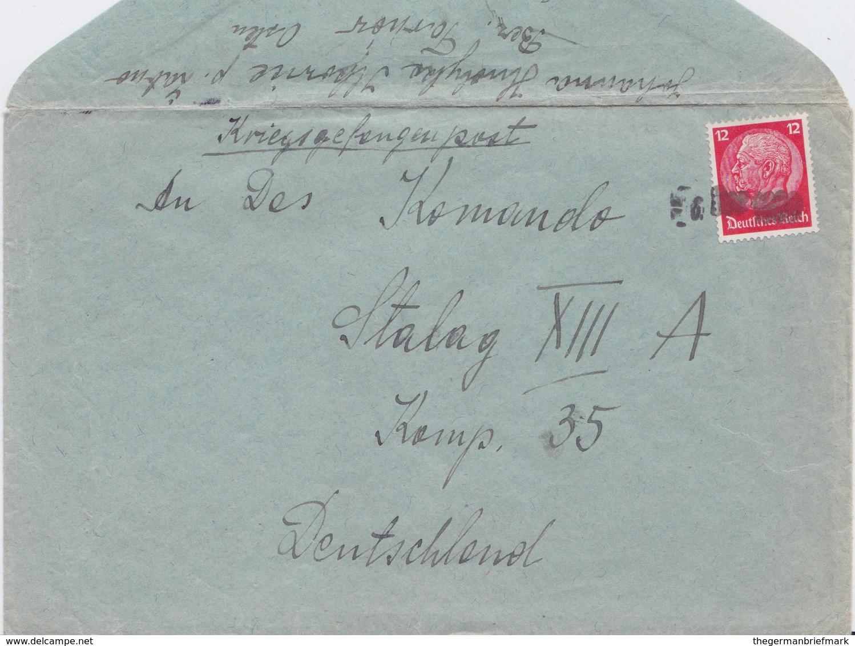 Generalgouvernement DR 3 Reich Mi519 Notstempel Bf Ilkowice B Zabno Bz Tarnow 1939 - Besetzungen 1938-45