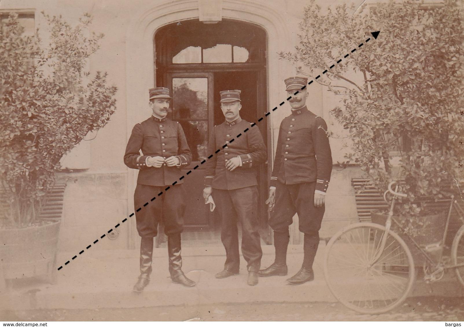 Photo Militaire Officier Gourverneur De Gap Gape ? 12 Octobre 1899 - Guerre, Militaire