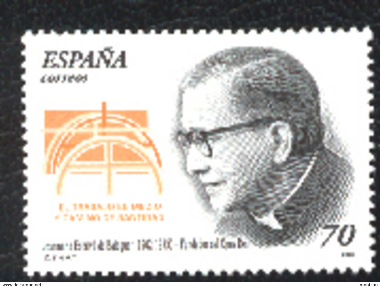 Spain 2000. Escriva De Balaguer Ed 3721 (**) - 1931-Hoy: 2ª República - ... Juan Carlos I