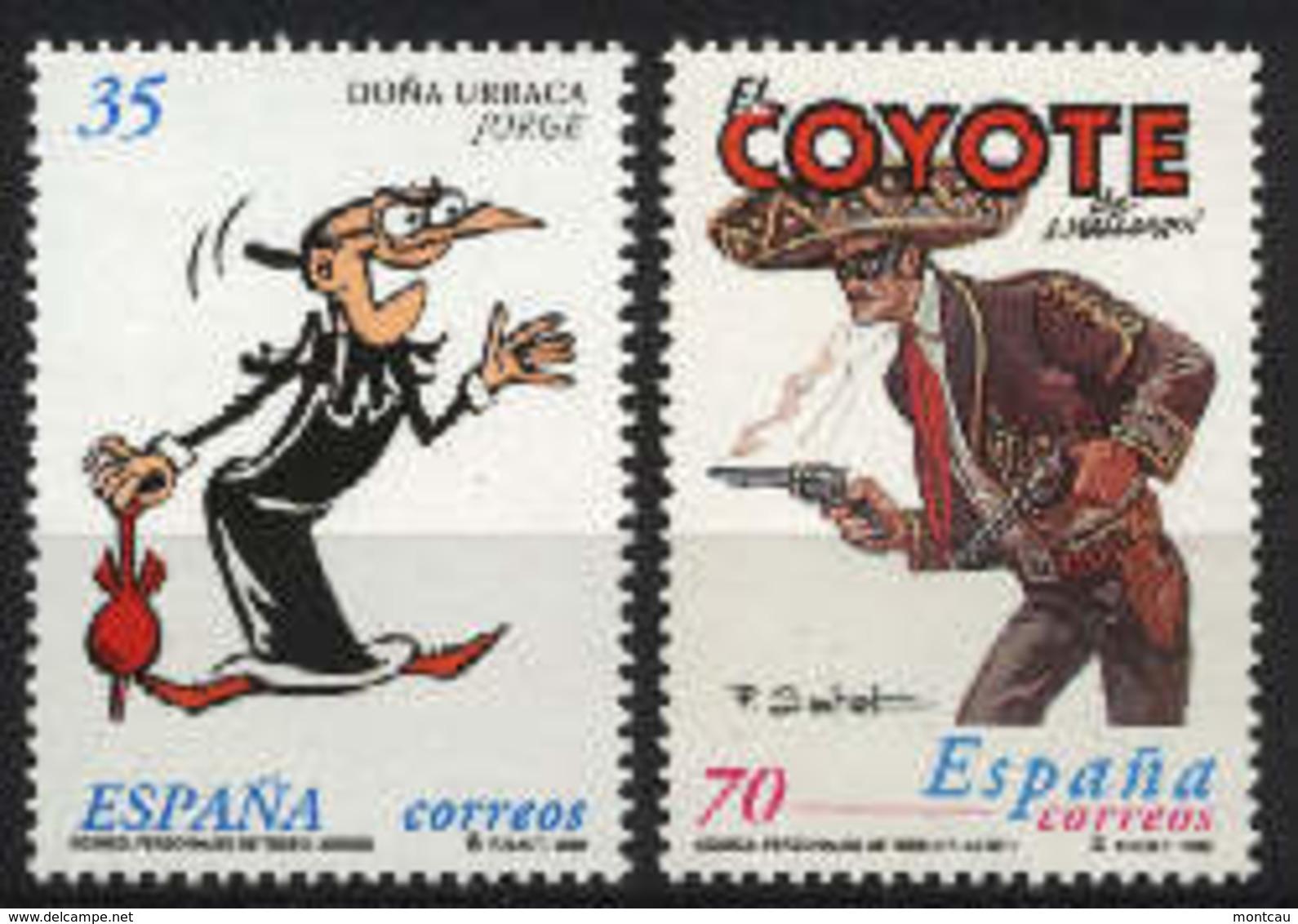 Spain 1999. Comics Ed 3645-46 (**) - 1931-Hoy: 2ª República - ... Juan Carlos I