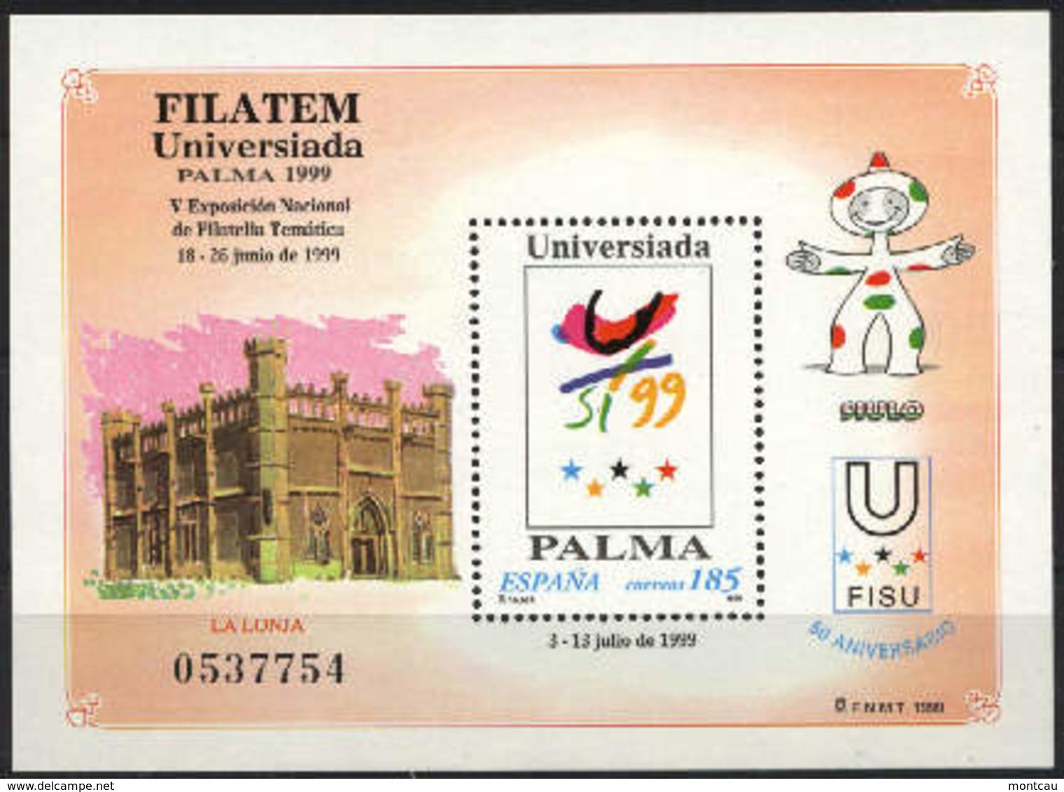 Spain 1999 - Filatem'99 Ed 3648 (**) - 1931-Hoy: 2ª República - ... Juan Carlos I
