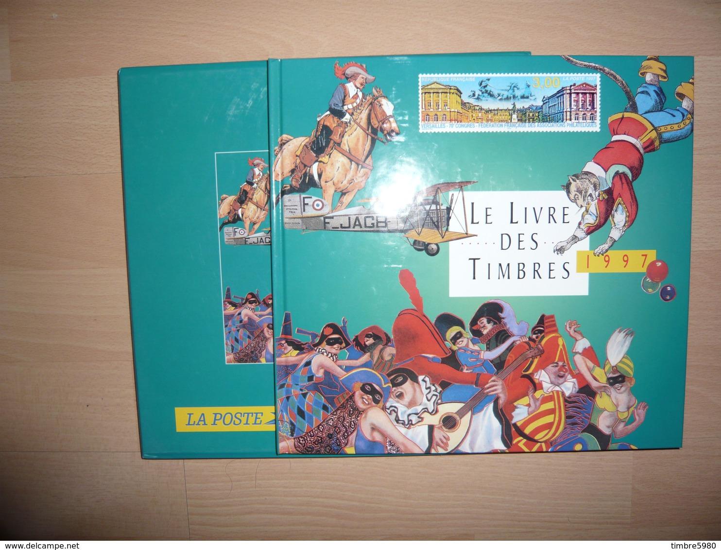 LE LIVRE DES TIMBRES FRANCE 1997 COMPLET - Autres Livres