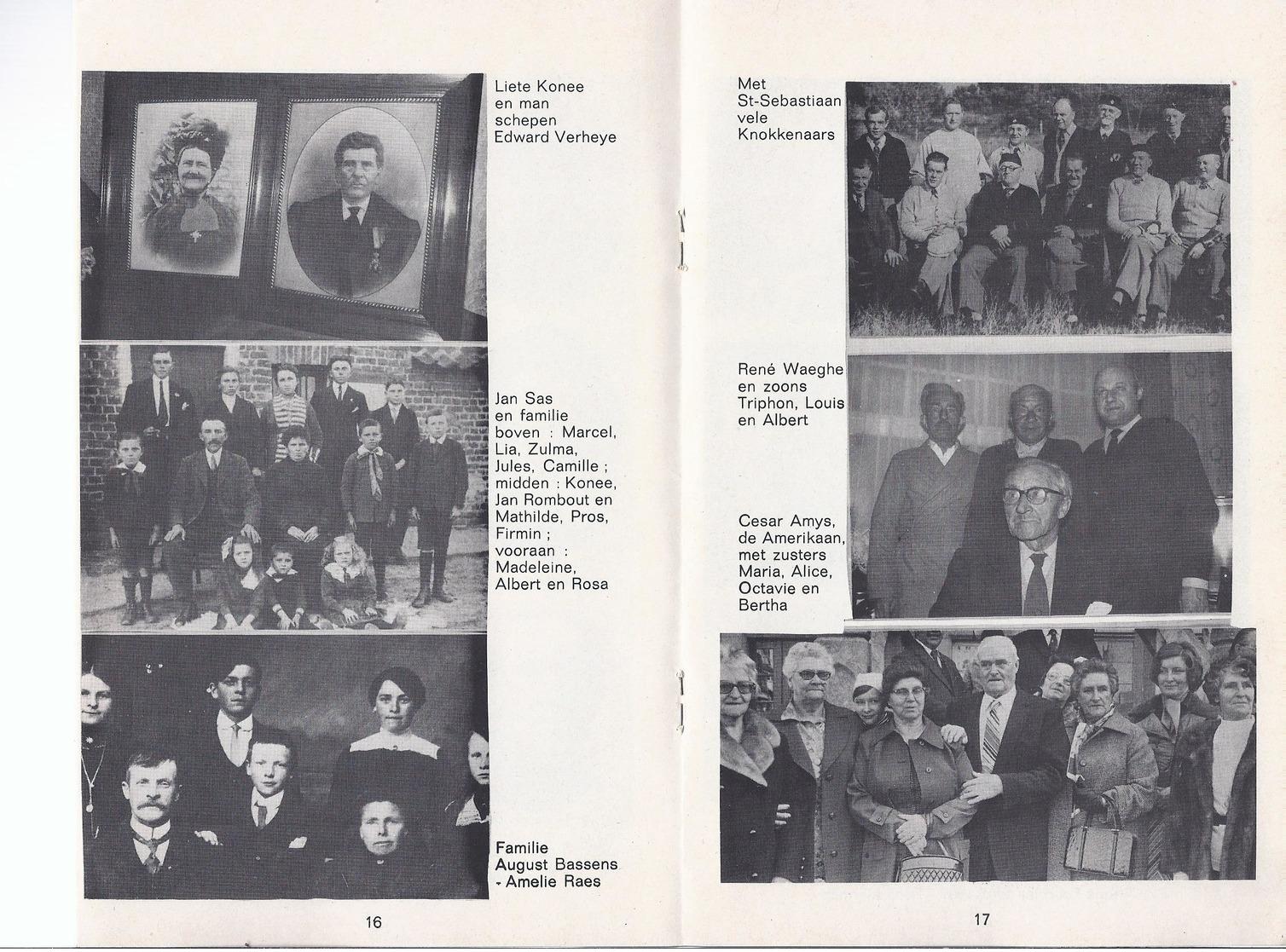 1982 KNOKKENAARS VAN 1830 TOT NU A. D'HONT UITG. CNOC IS IER ( KNOKKE ) - Histoire