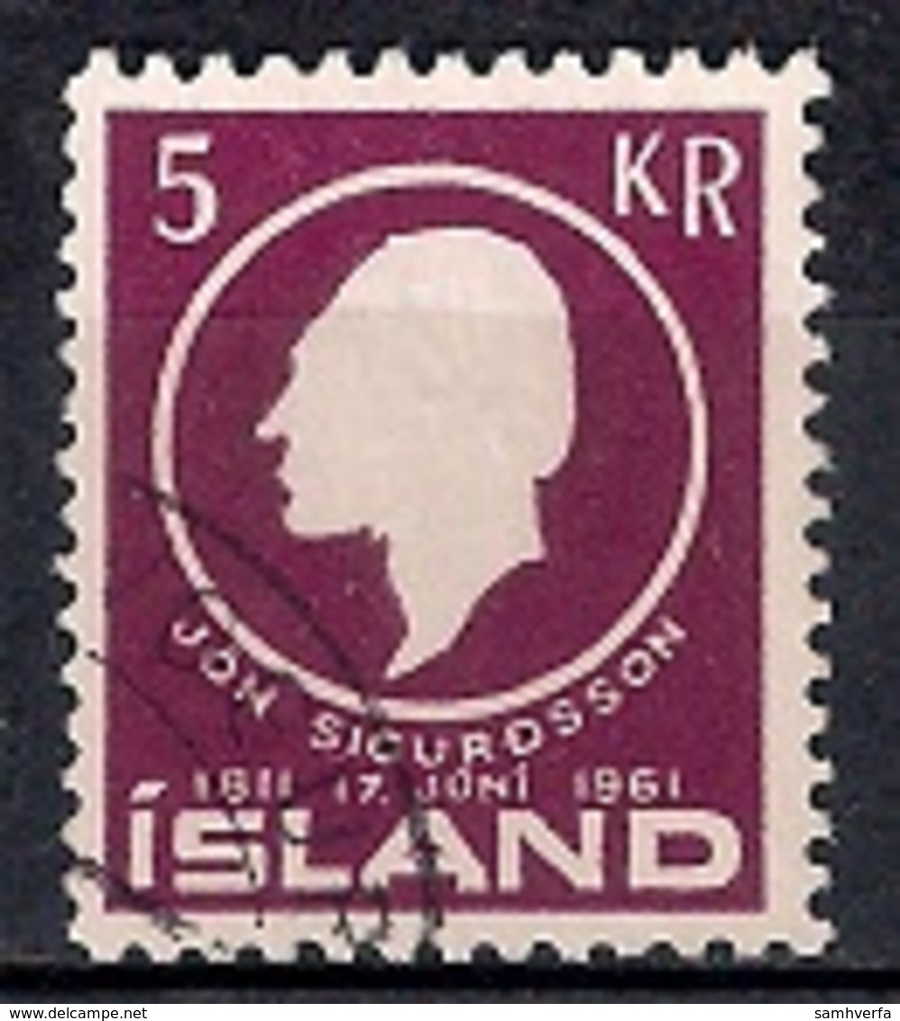 Iceland 1961 - The 150th Anniversary Of The Birth Of Jon Sigurdsson - Gebraucht