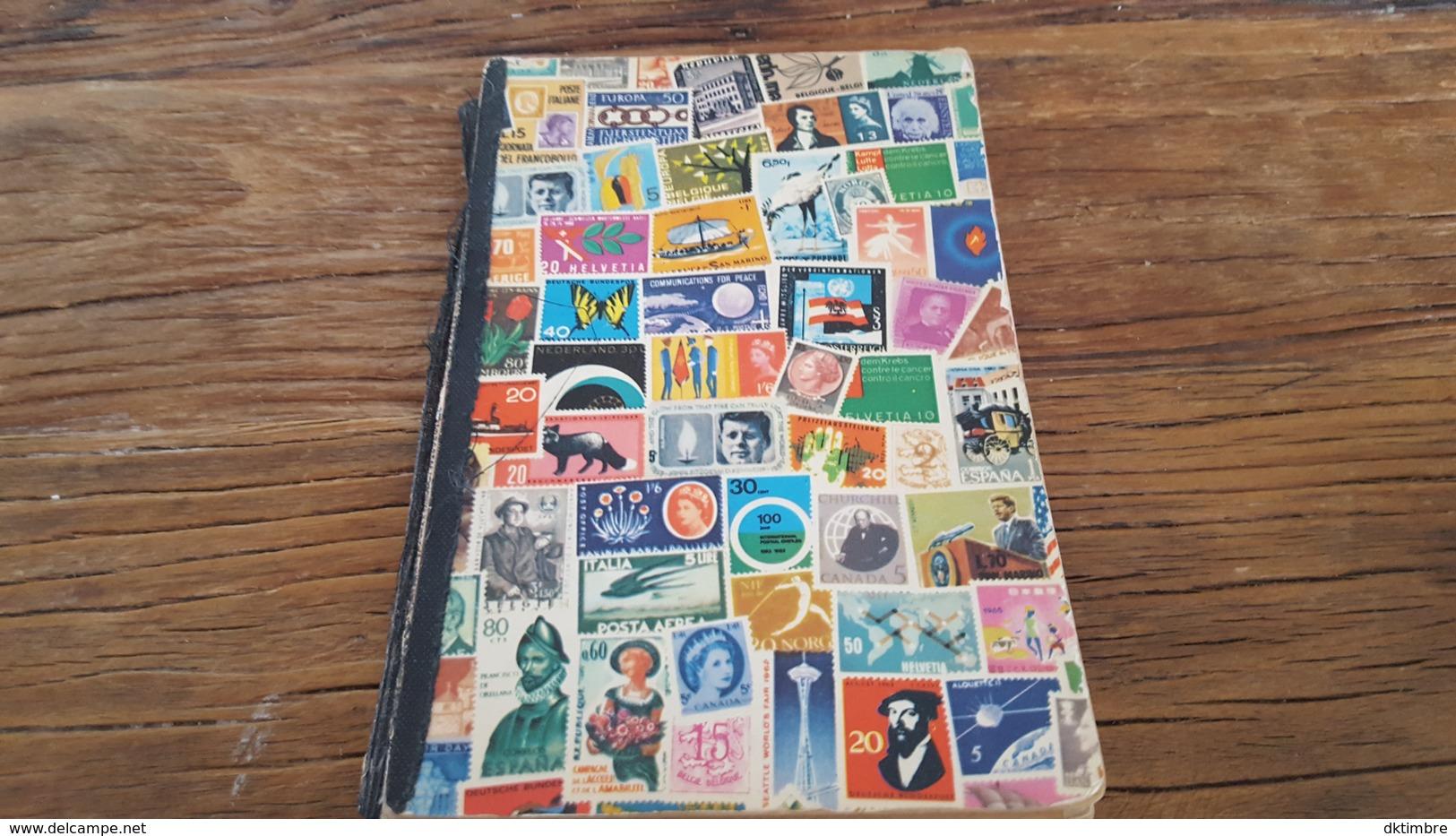 LOT 440197 PETIT ALBUM TIMBRE DE FRANCE PORT A 2 EUROS - Timbres