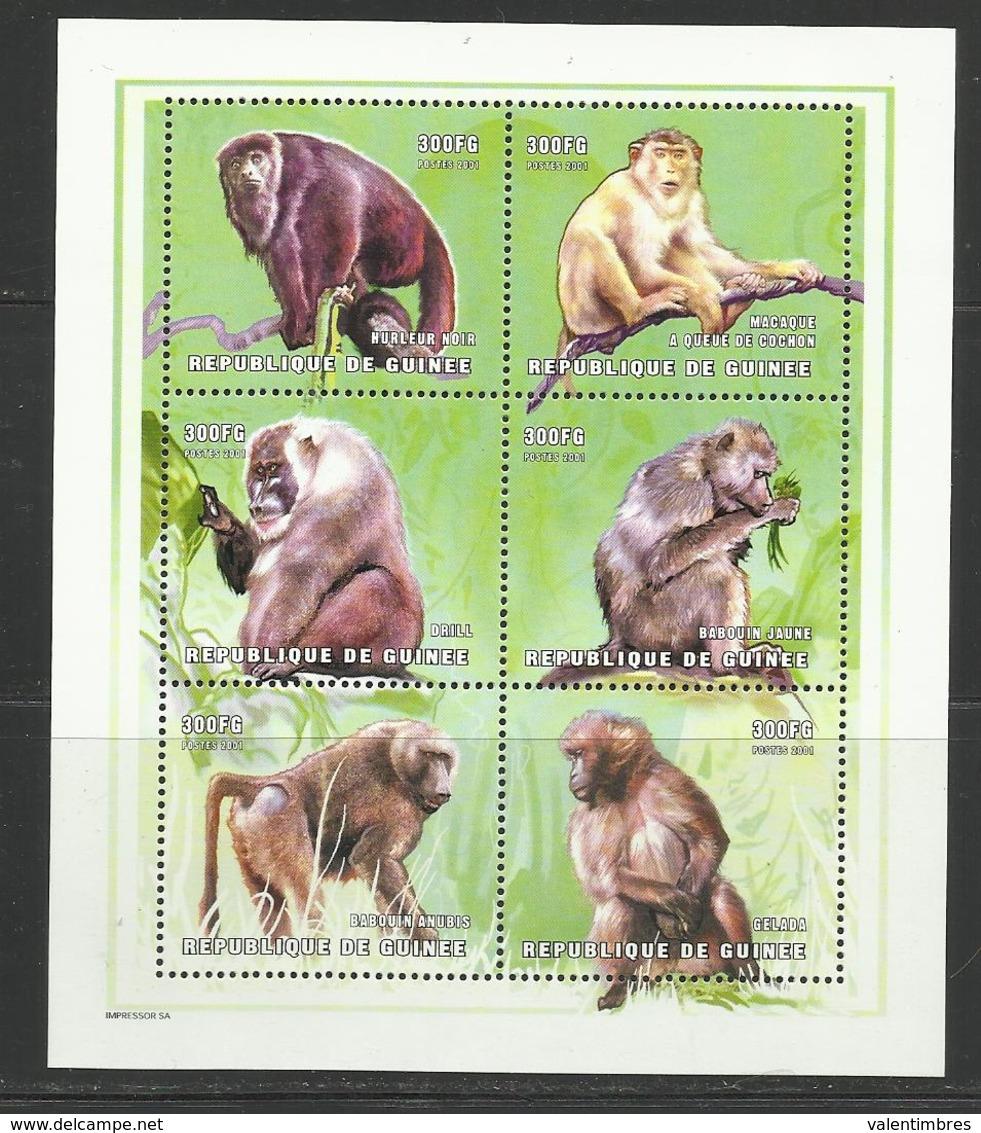 Guinée YT ** 1927/32 SINGES - Apen