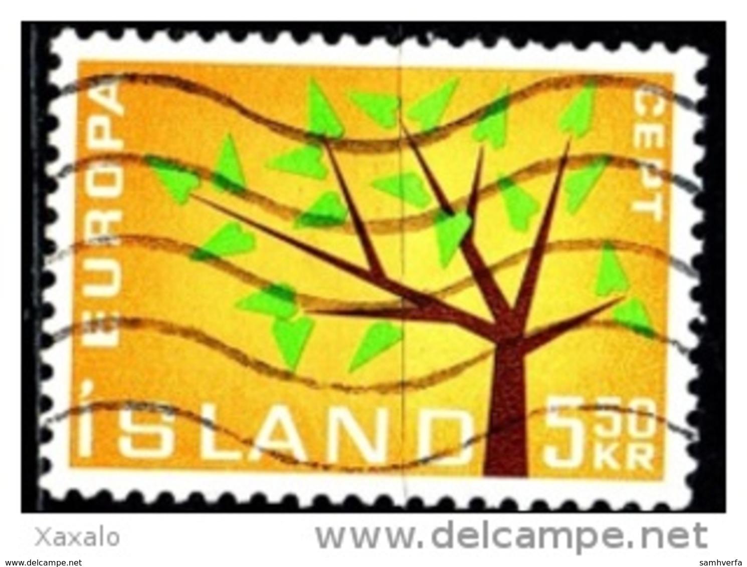 Iceland 1962 - Europa CEPT - 1944-... Republik