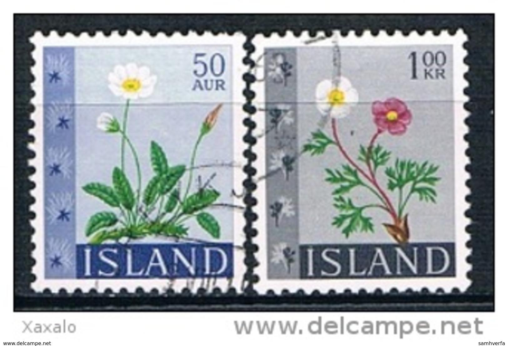 Iceland 1964 - Flowers - Gebraucht