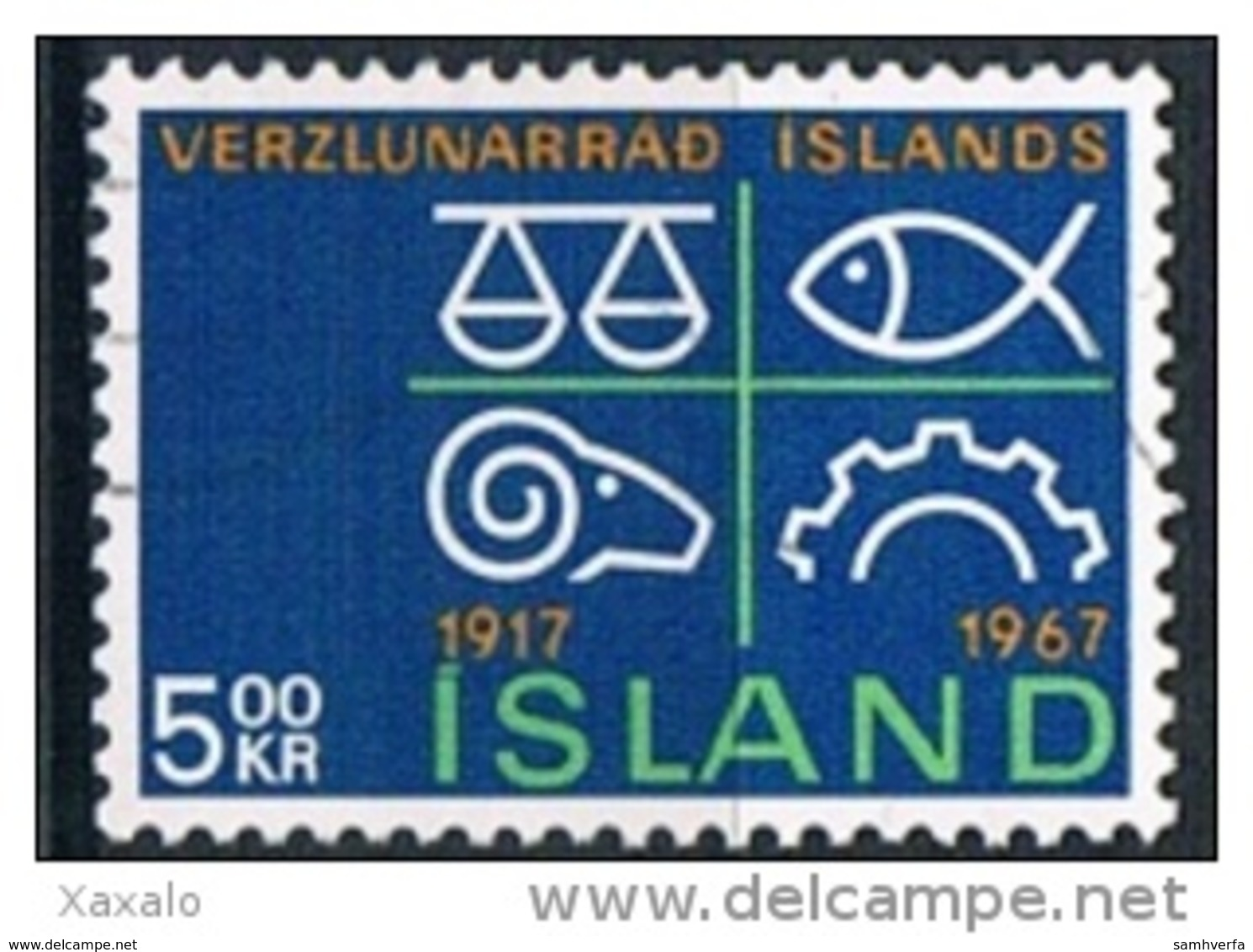 Iceland 1967 - Used - 1944-... Republik
