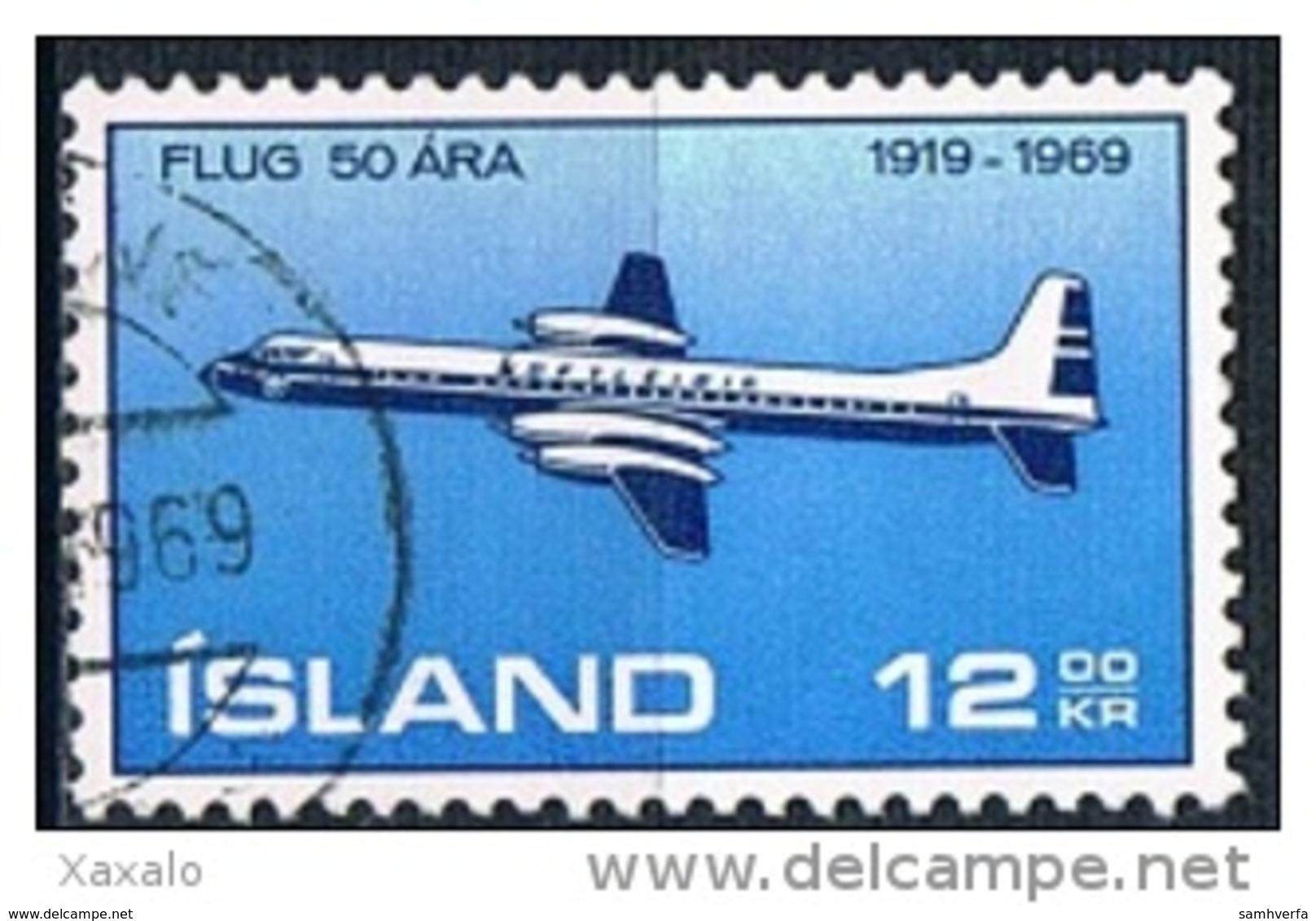 Iceland 1969 - Aviation - 1944-... Republik