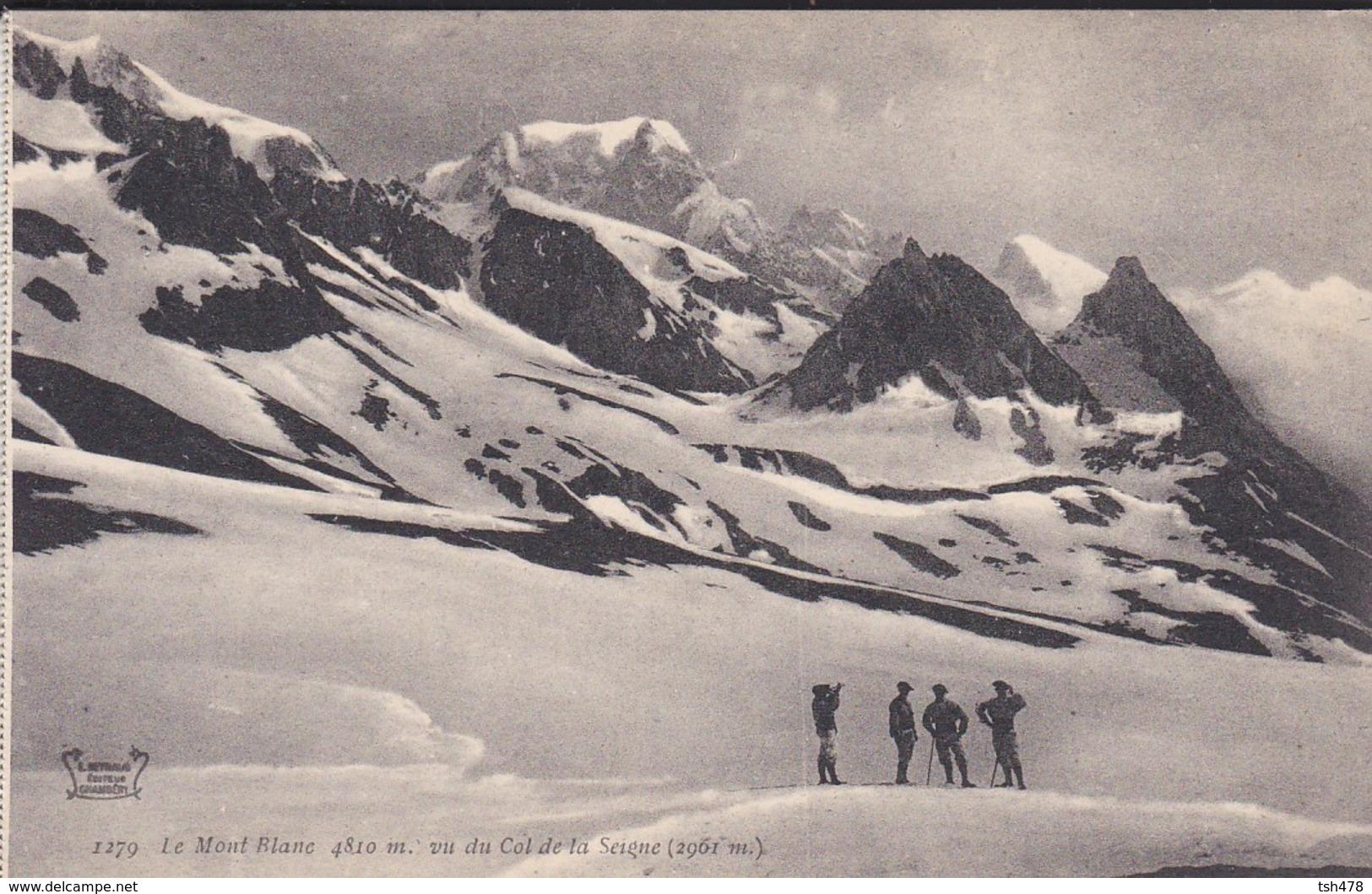 74----LE MONT BLANC ( 4810m ) Vu Du Col De La Seigne--voir 2 Scans - Chamonix-Mont-Blanc