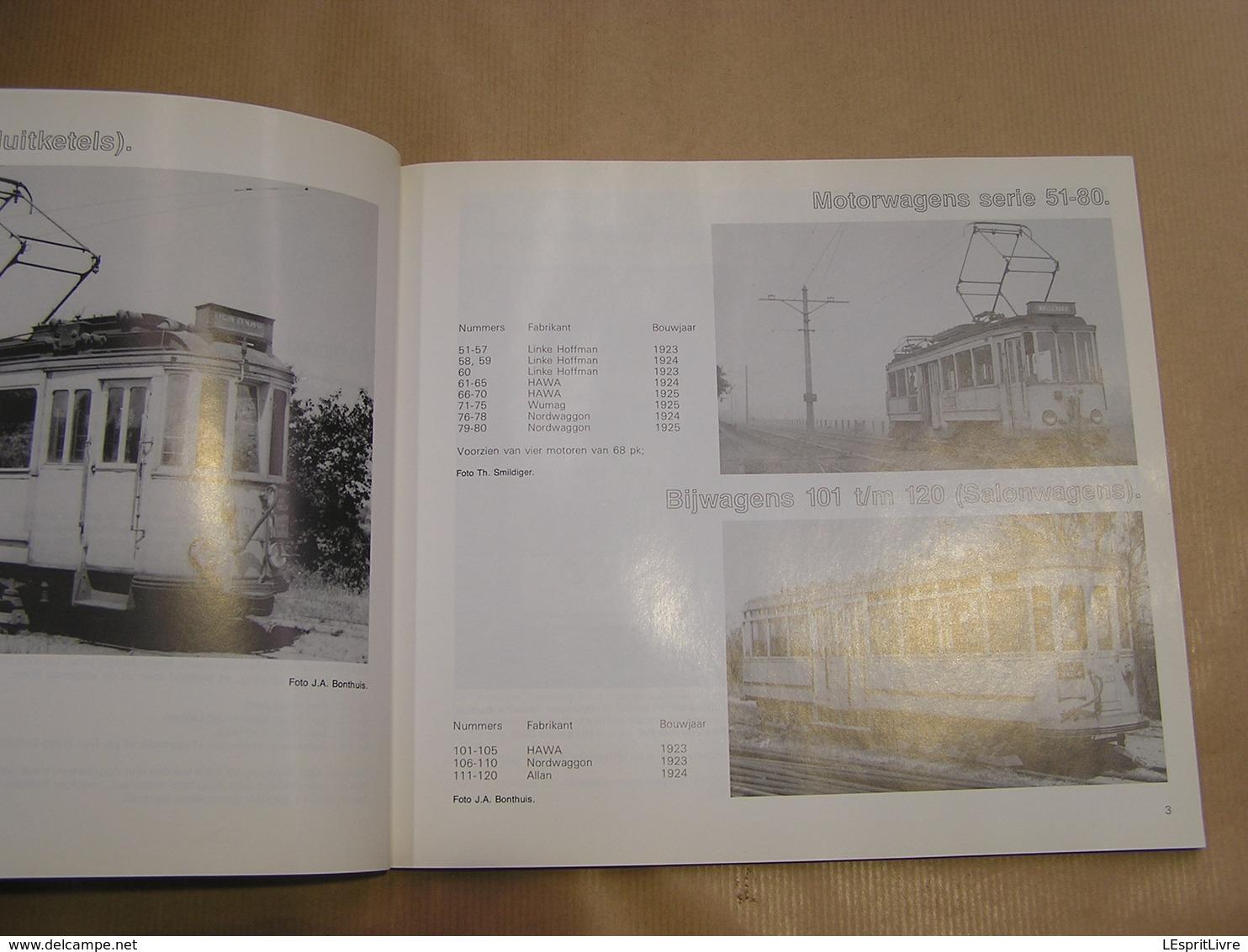 RETOURJE WASSENAAR Herinneringen Aan De Electrische Tramlijn Den Haag Leiden Régionaal Tramways Tram Nederlands Pays Bas - Histoire