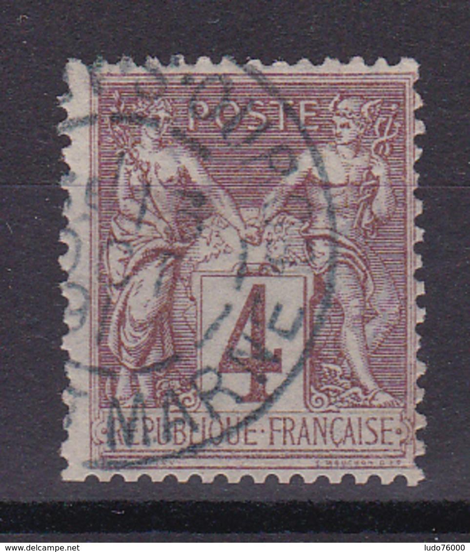 D335/ SAGE N° 88 OBL /  CACHET BLEU - 1876-1898 Sage (Type II)