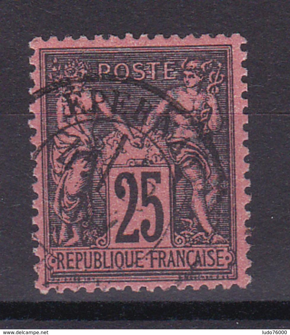 D335/ SAGE N° 91 OBL COTE 30€ - 1876-1898 Sage (Type II)