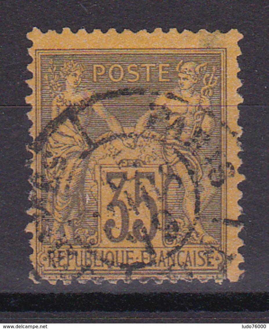 D336/ SAGE N° 93 OBL COTE 50€ - 1876-1898 Sage (Type II)