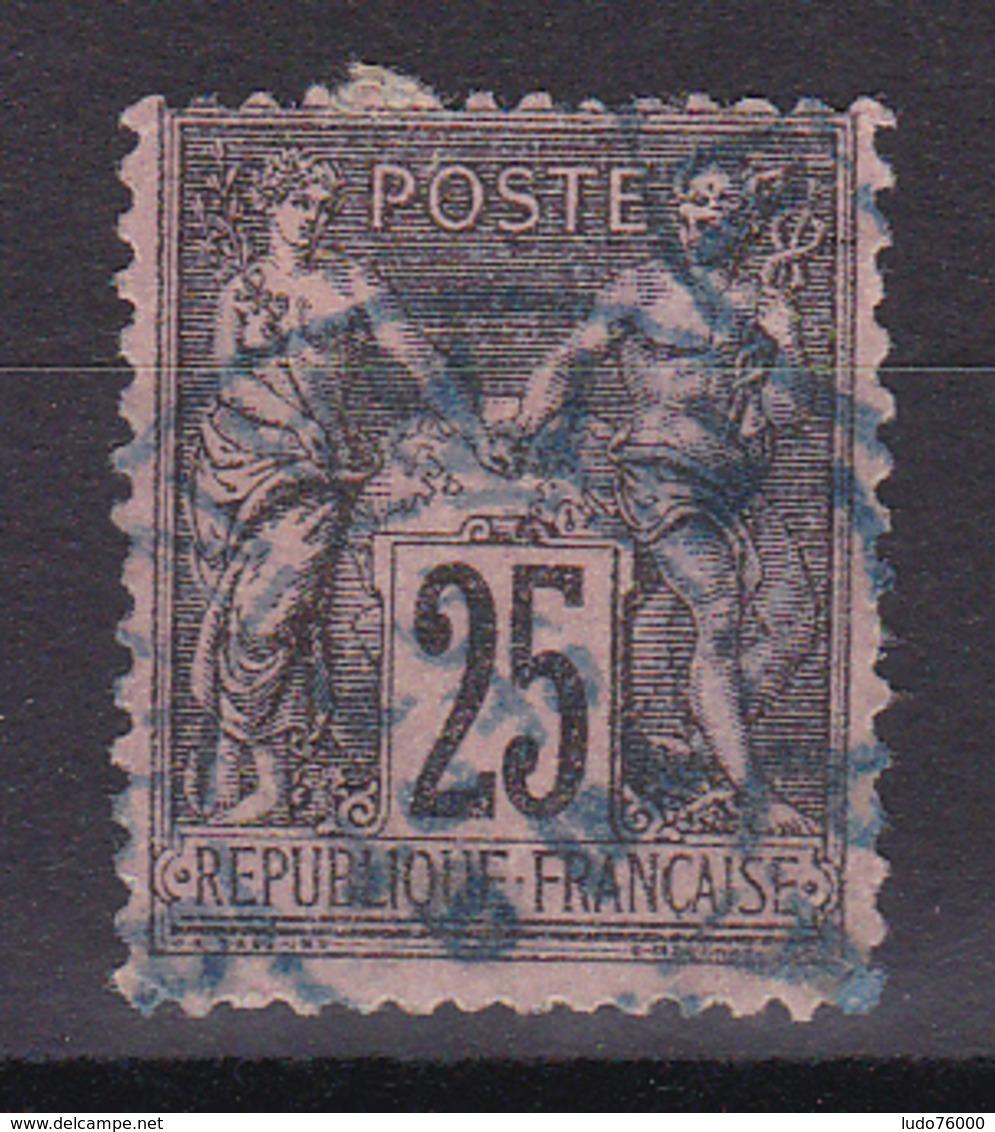 D336/ SAGE N° 97 OBL / CACHET BLEU - 1876-1898 Sage (Type II)
