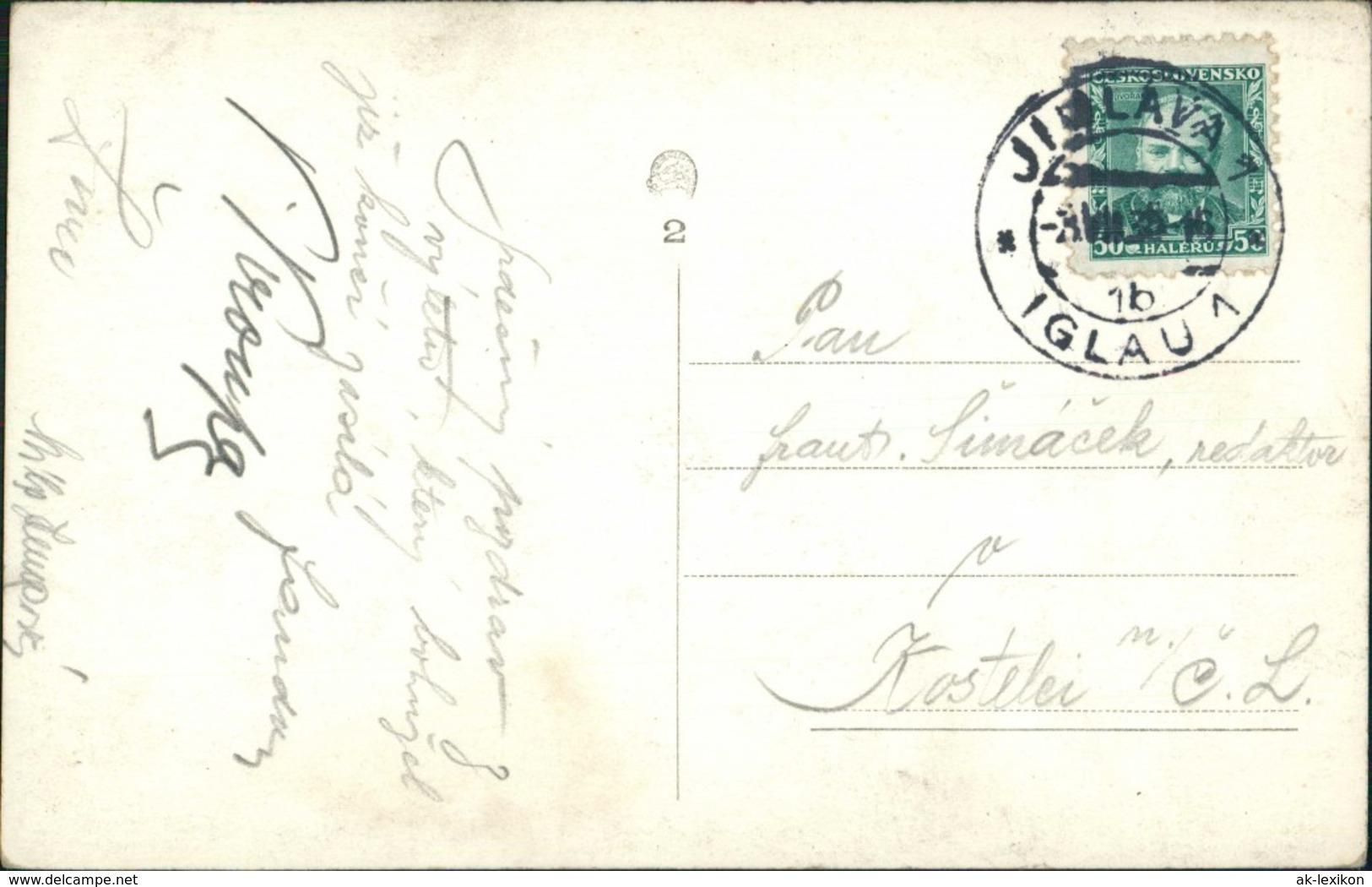 Frain Thaya Vranov Nad Dyjí Blick Auf Vranovská Přehrada / Talsperre Frain 1935 - Tschechische Republik