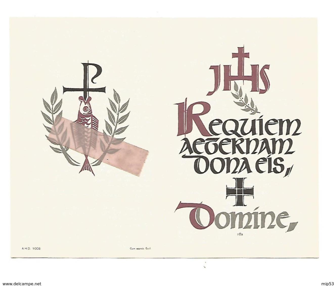 D 653. JOSEPH LAMENS - Oudstrijder 1814/18-Herinneringsmed.fort LONCIN Met Band - BEVINGEN (ST-TRUIDEN) 1887 / 1965 - Images Religieuses