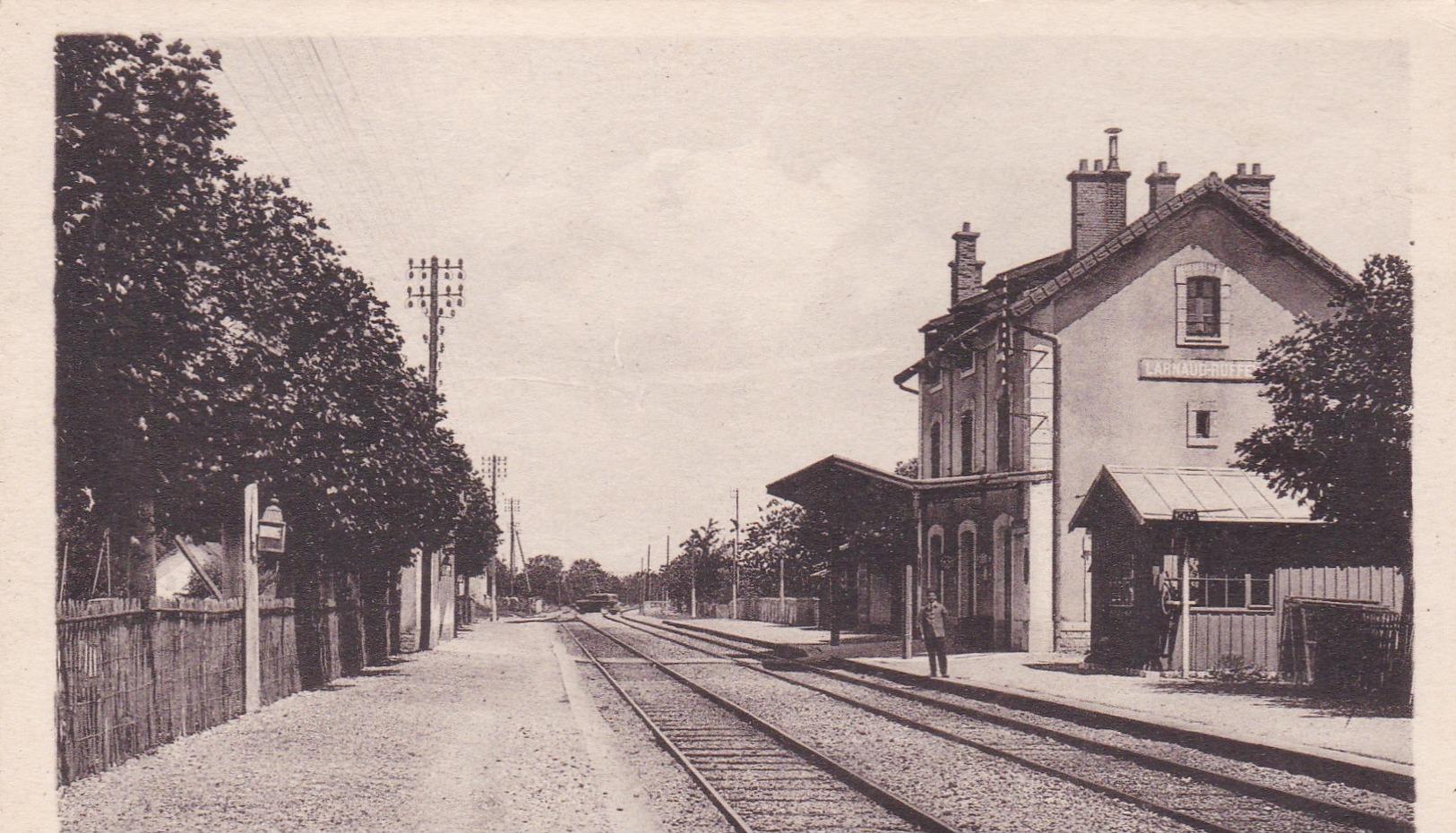 Larnaud - Gare De Larnaud-Ruffey - Autres Communes