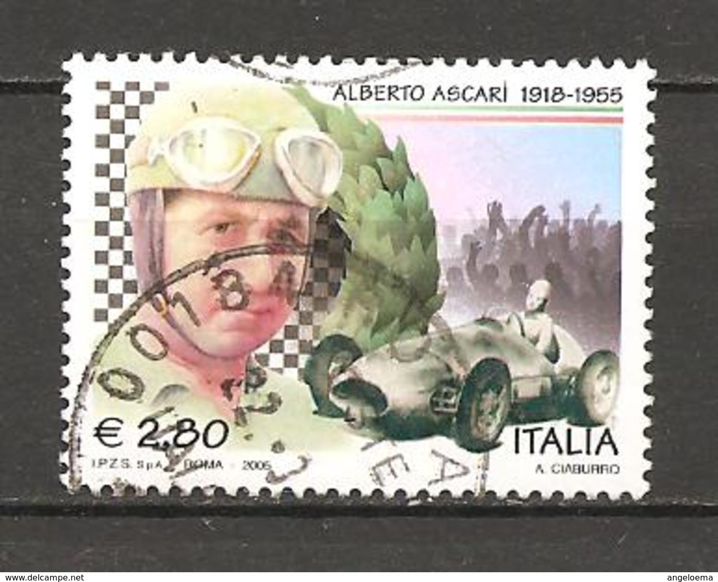 ITALIA - 2005  ALBERTO ASCARI Automobilismo Usato - Celebrità