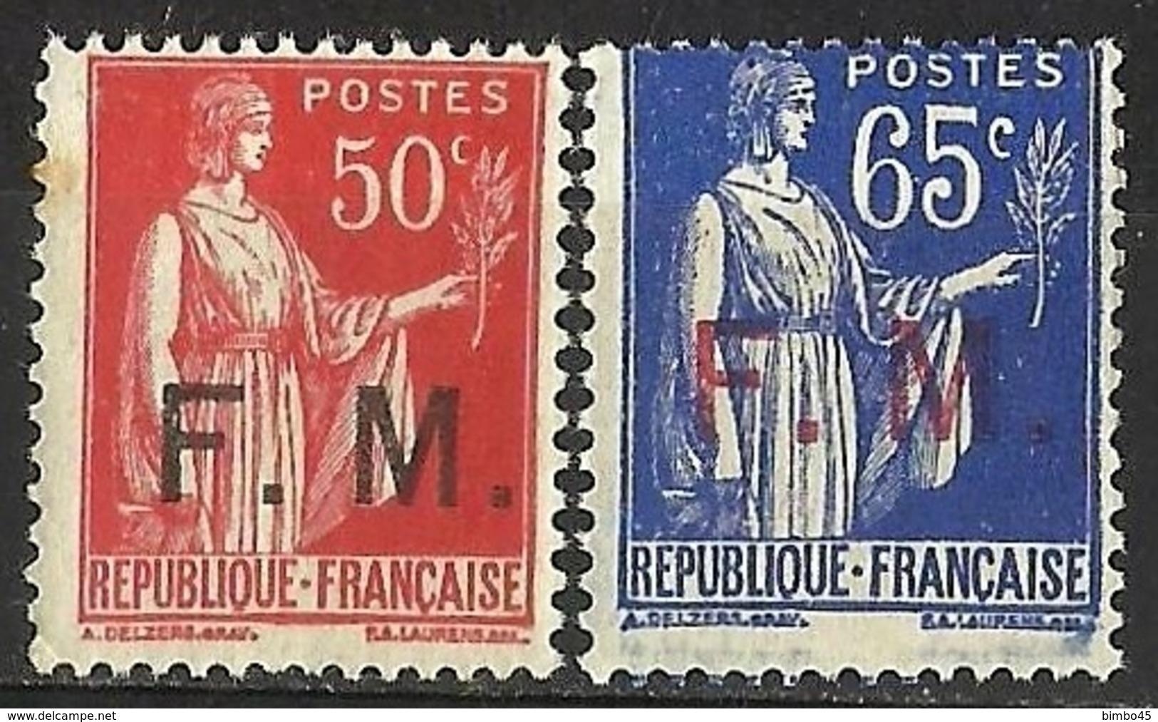 FRANCE -- 1933 & 1937 MNH - Francia