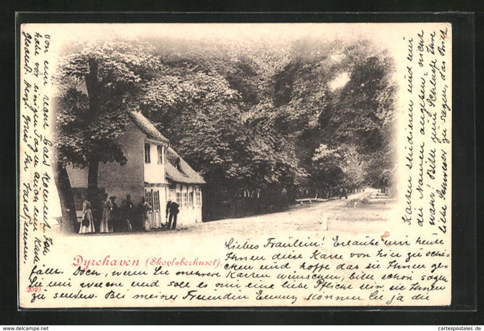 AK Dyrehaven, Skovloberhuset, Haus Am Ortsausgang - Danemark