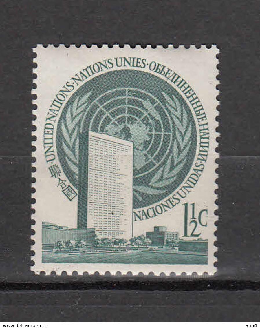 NATIONS  UNIES  NEW-YORK  1951  LOT     NEUFS**   CATALOGUE YVERT&TELLIER - New York -  VN Hauptquartier
