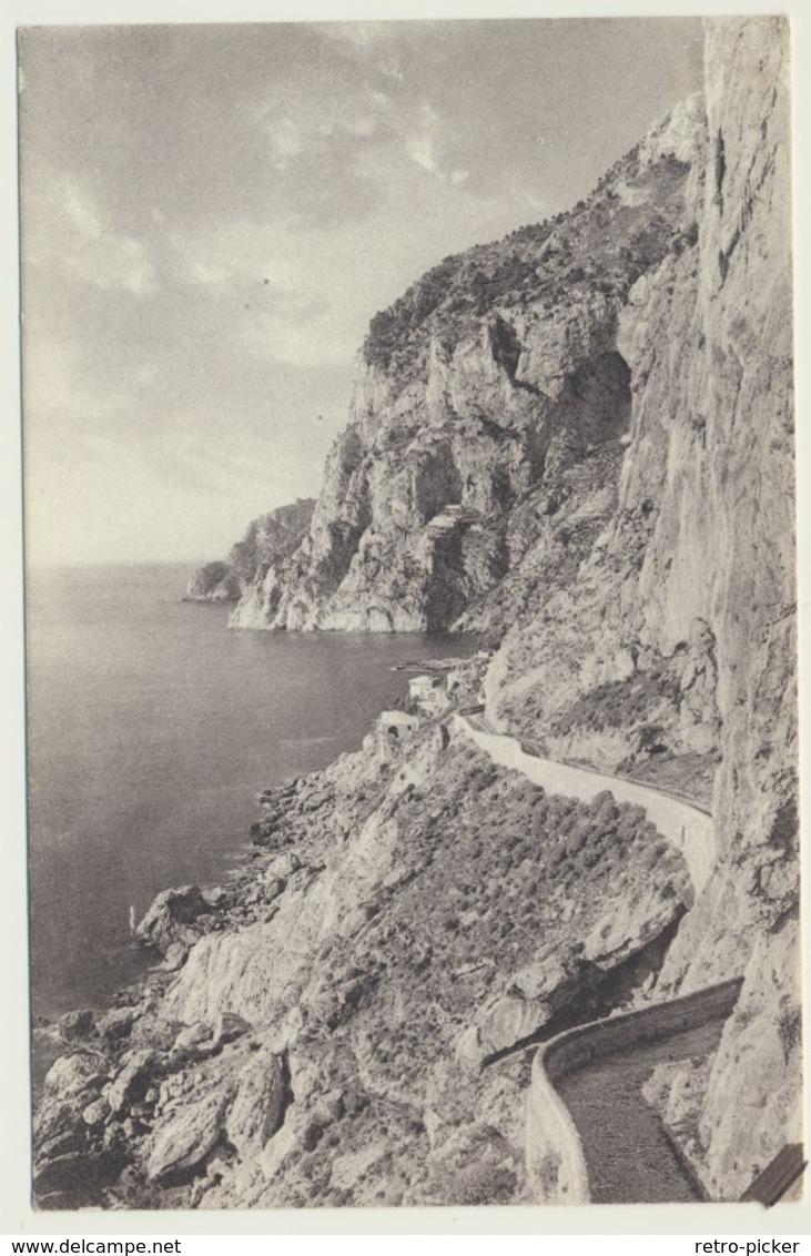 AK  La Via Krupp Capri - Napoli