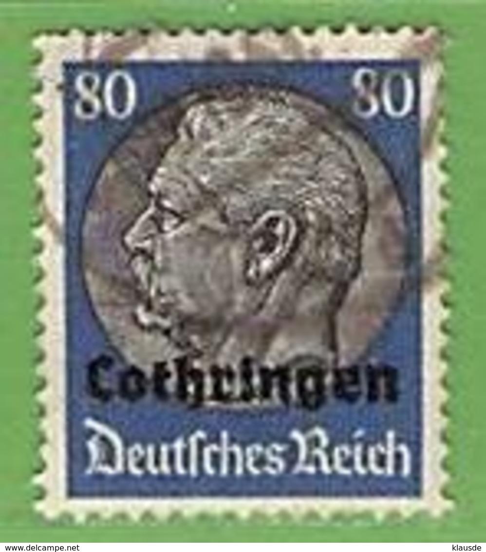 MiNr.15 O Deutschland Besetzte Gebiete II.WK Lothringen - Besetzungen 1938-45