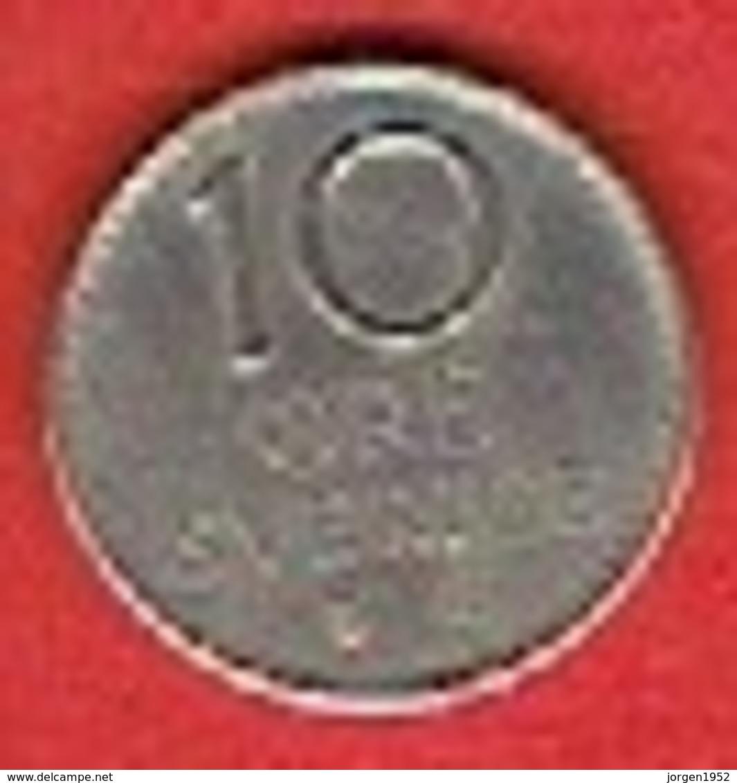SWEDEN # 10 ØRE  FRA 1957 - Suède