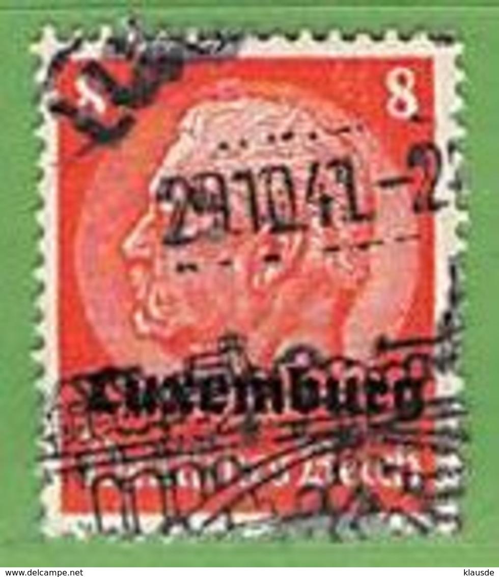 MiNr.5 O Deutschland Besetzte Gebiete II.WK Luxemburg - Besetzungen 1938-45