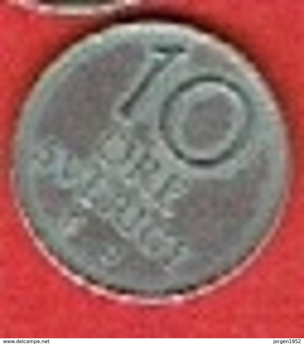 SWEDEN # 10 ØRE  FRA 1970 - Suède