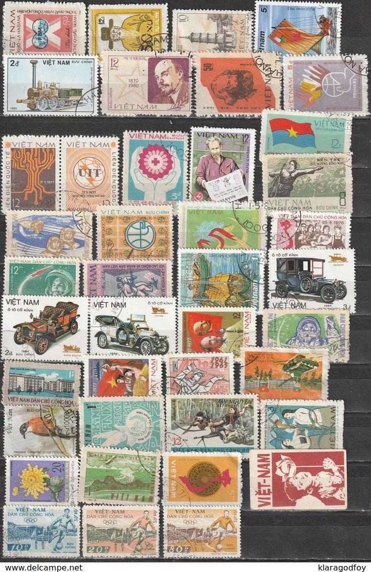 Vietnam North Old Stamps Selection (please Read Description) B190110 - Viêt-Nam