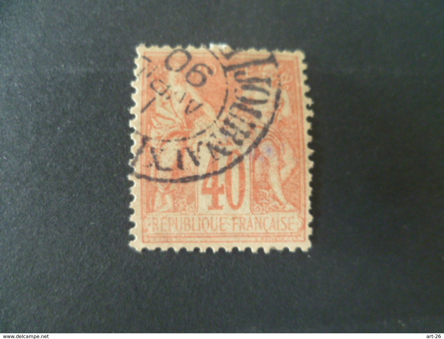 SAGE N° 94   OBLITERE JOURNAUX - 1876-1898 Sage (Type II)