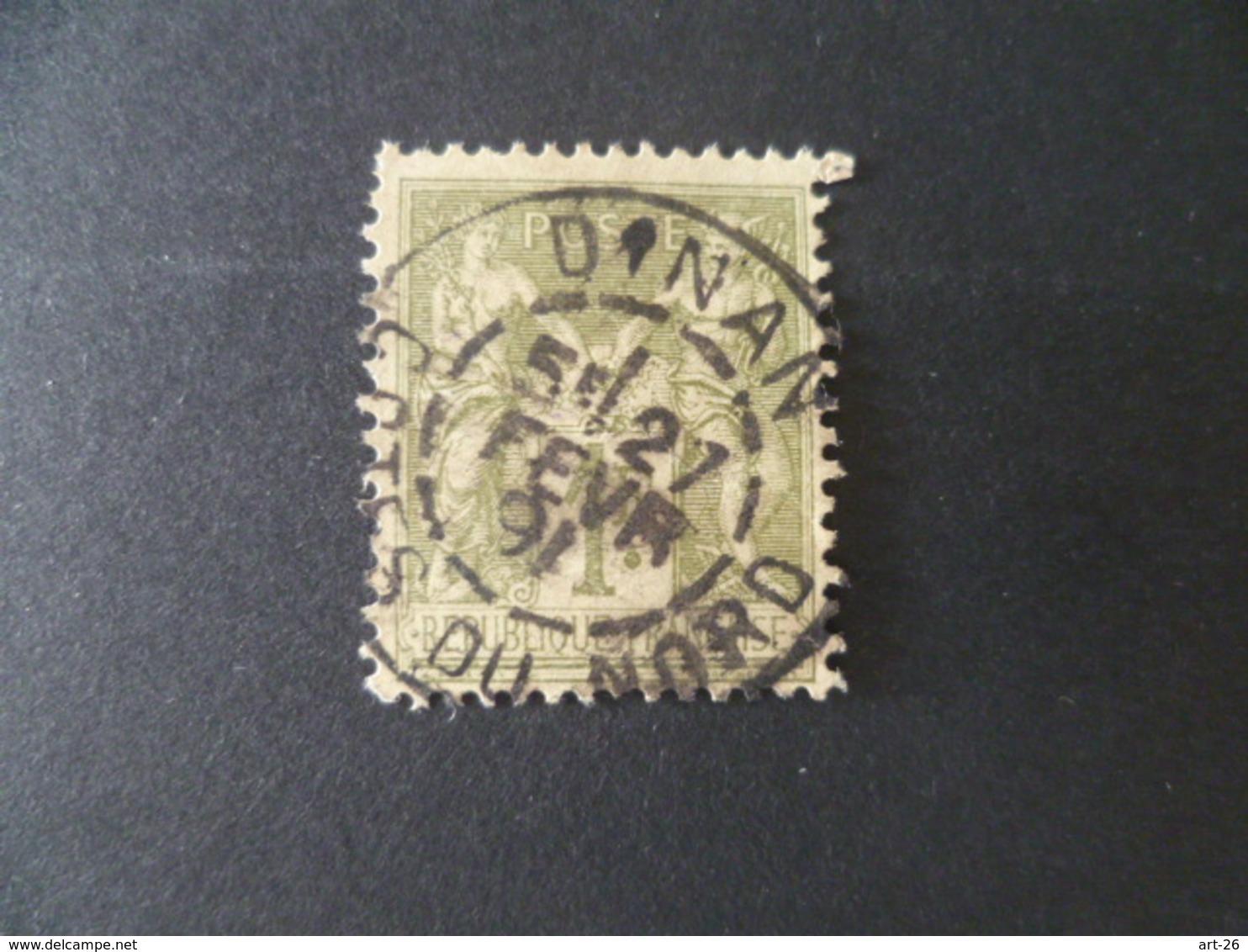 SAGE  N°82  OBLITERE DINAN  COTE DU NORD - 1876-1898 Sage (Type II)