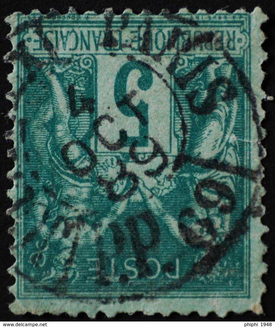 Sage N°75 Type Il O.(CAD) PARIS Journaux 4 Oct 1889. (Bur 69) - 1876-1898 Sage (Type II)