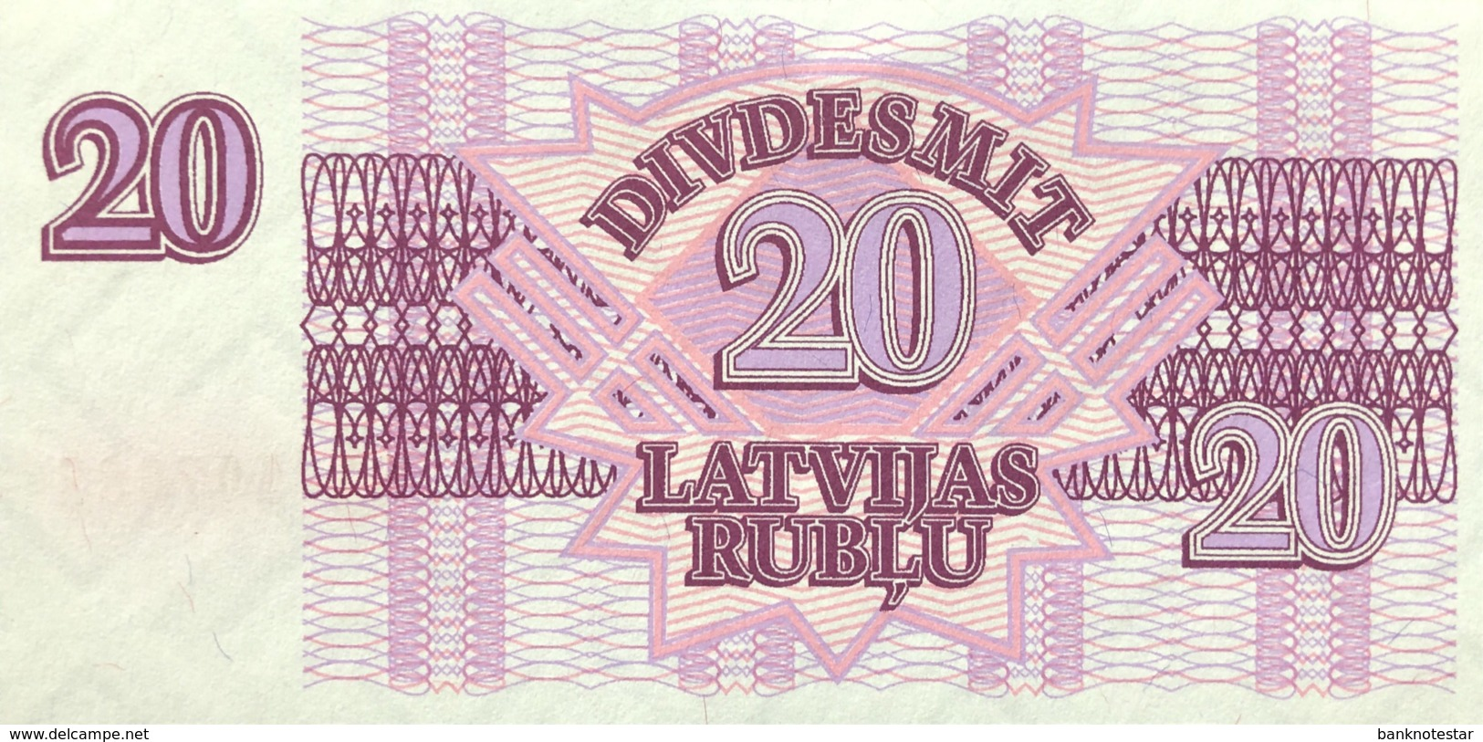 Latvia 20 Rublu, P-39 (1992) - UNC - Lettonie