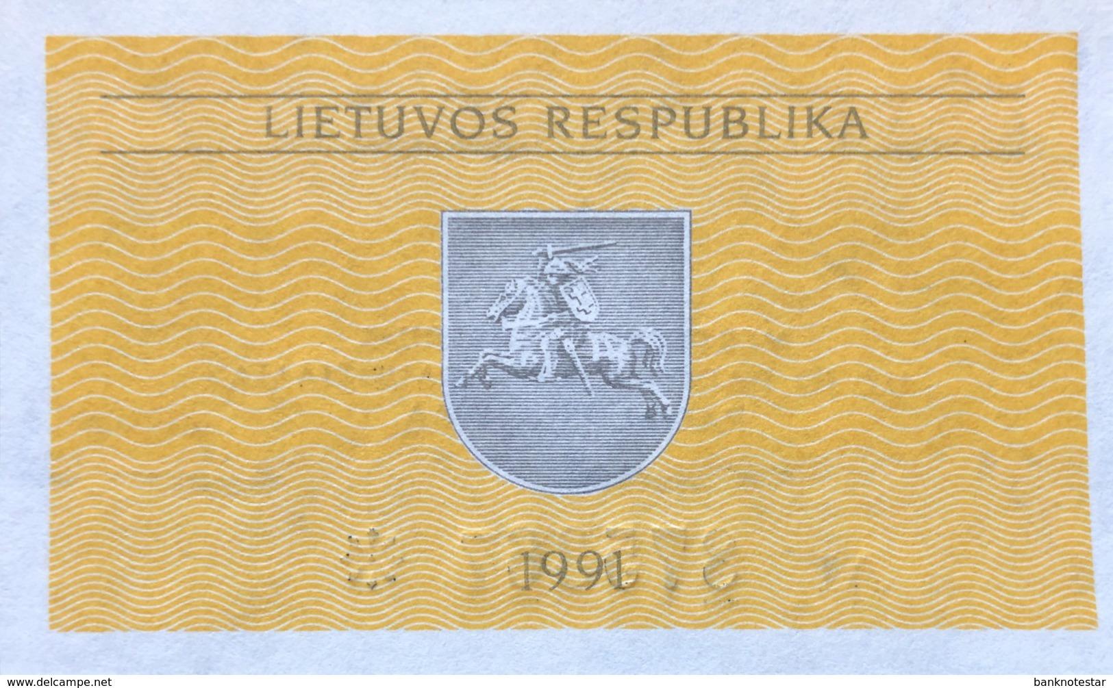 Lithuania 0.20 Talonas, P-30 (1991) - UNC - Lituanie