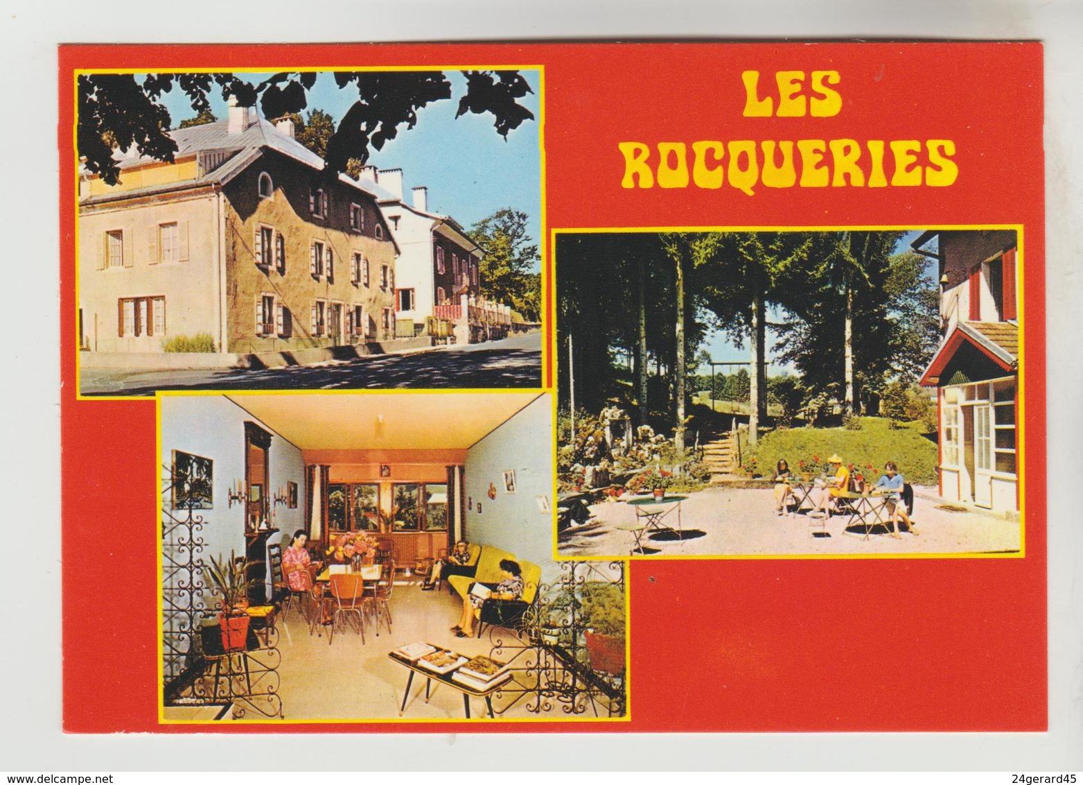 """CPM FONCINE LE BAS (Jura) - """"LES ROCQUERIES"""" Maison De Repos - Autres Communes"""