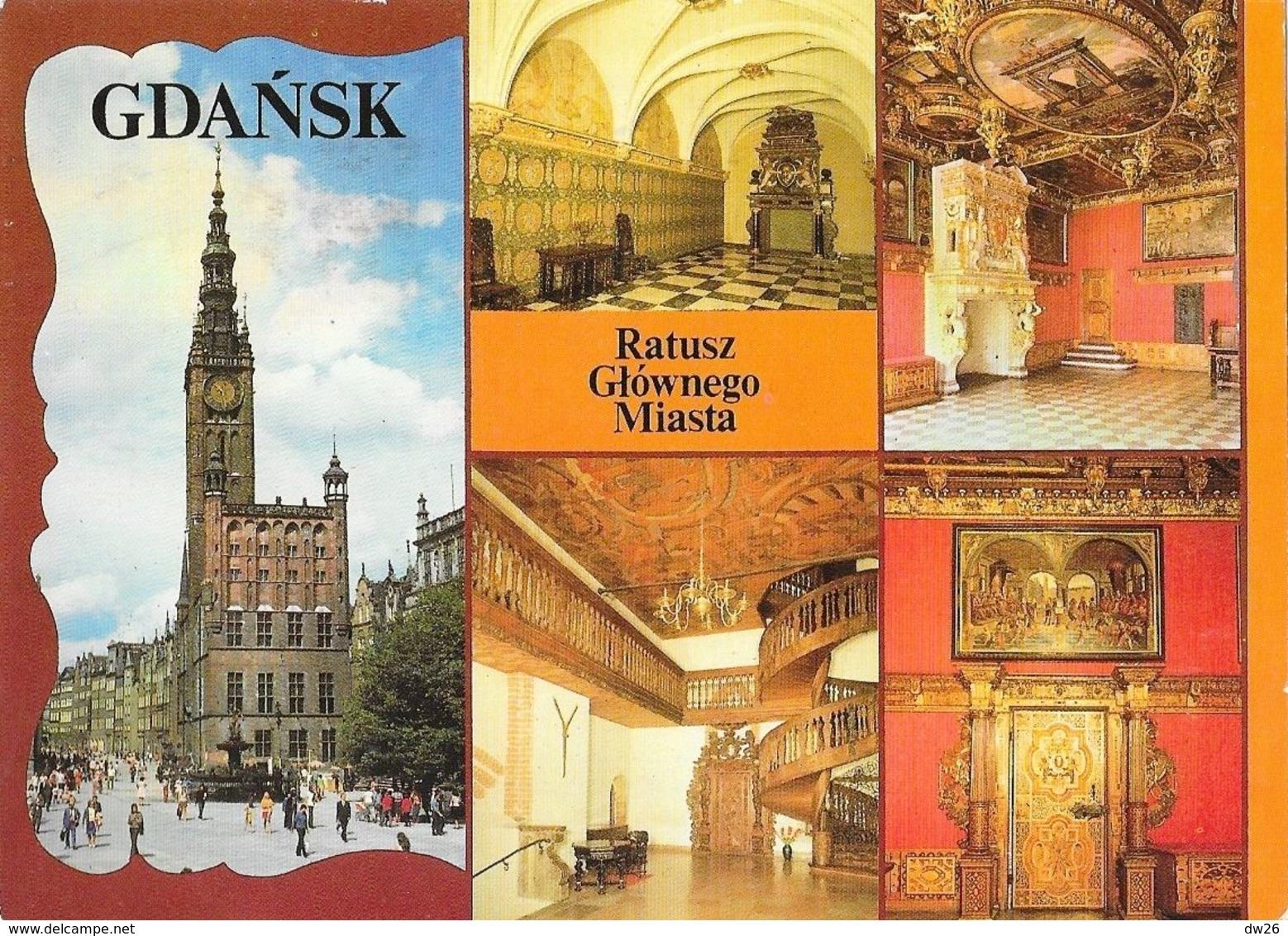 Gdansk (Danzig, Pologne) - Multivues: Ratusz, Glownego, Miasta - Pologne