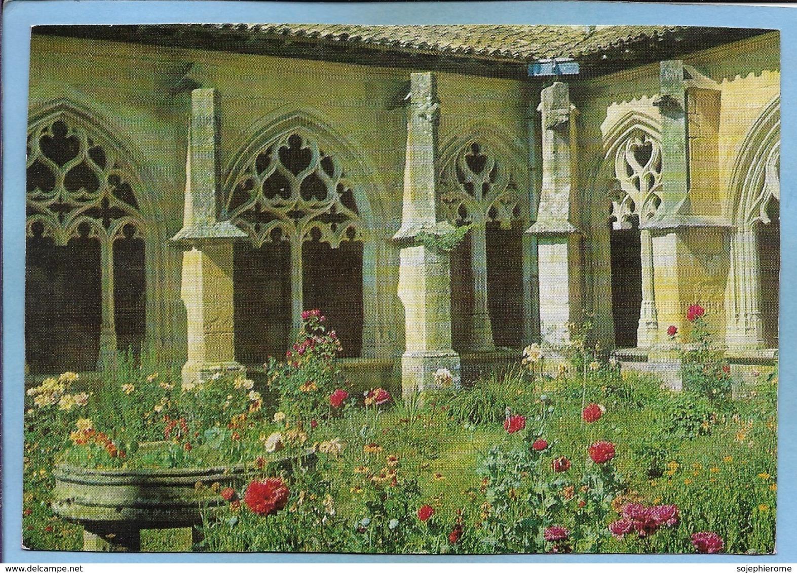 Cadouin (24) Abbaye (Notre-Dame De La Nativité) Le Cloître 2 Scans Quercy - France