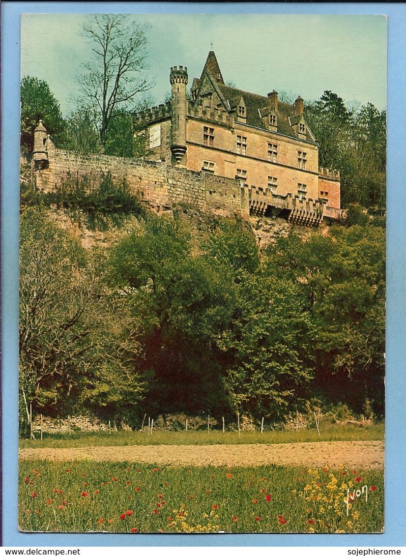Les Eyzies-de-Tayac-Sireuil (24) Château De Beyssac 2 Scans - France